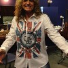 David Coverdale's new stage shirt (2013)